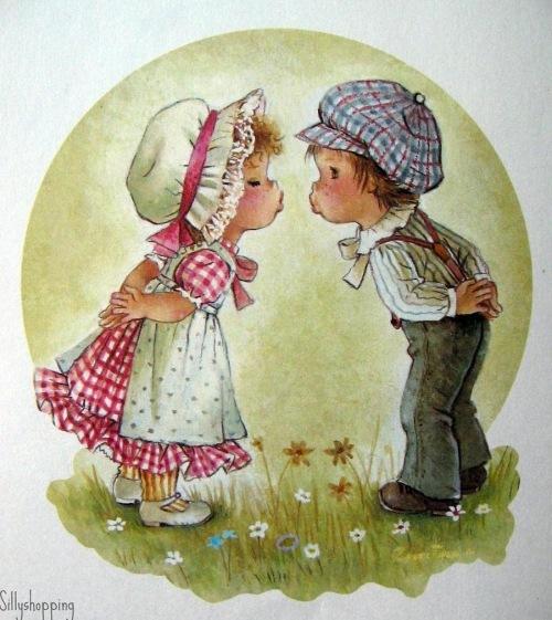 Открытка для девочки и мальчика