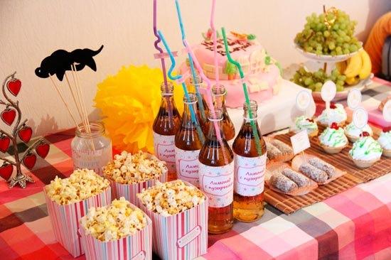 Кэнди бар на детский день рождения фото и рецептами