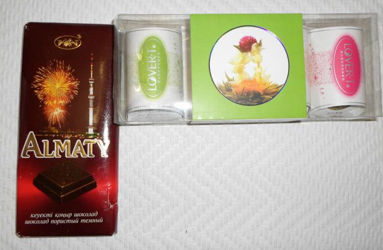 Шоколад и чай подарок