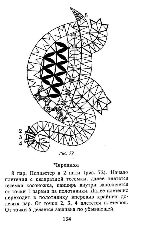 Техника плетения кружев 9 букв