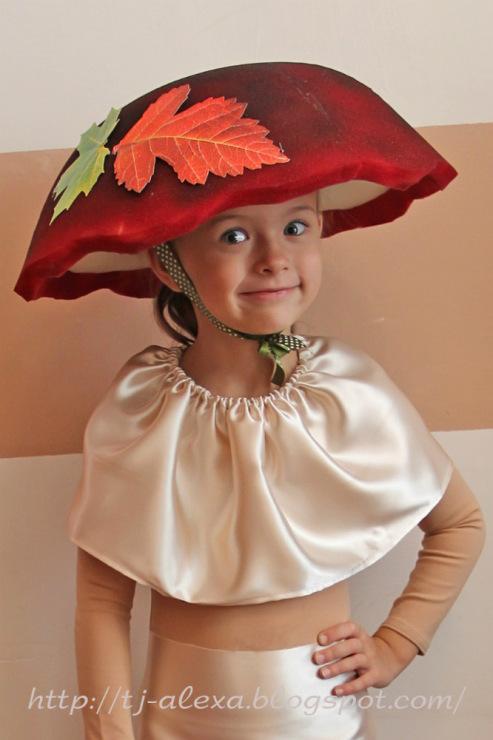 Сделать шляпку на праздник осени 195