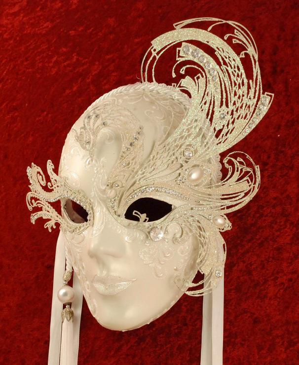 Как делают венецианские маски своими руками