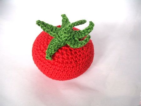 Схема вязания помидорки крючком