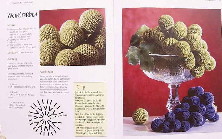 Вяжем фрукты спицами