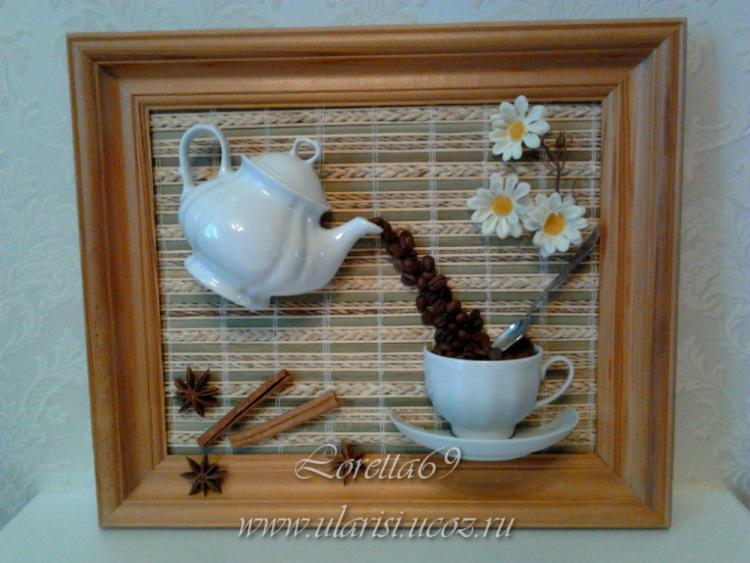 Панно с кофейной чашкой