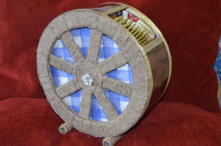 Чайное колесо своими руками 47