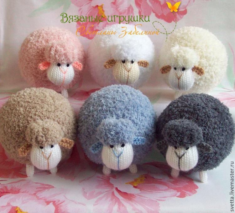 Мастер класс по вязанию овечку крючком 73