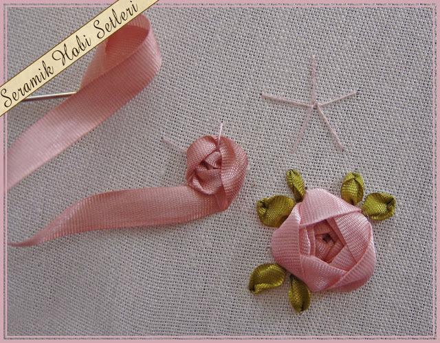 Вышивка лентами пошаговое