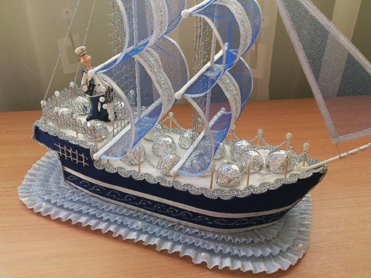 Корабль поделка из бумаги поделки своими руками