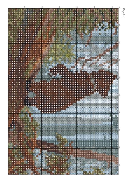 ВЫШИВАЙ. ру » Утро в сосновом лесу: авторские схемы 10